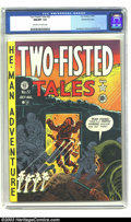 Golden Age (1938-1955):War, Two-Fisted Tales #22 Gaines File pedigree (EC, 1951) CGC NM/MT 9.8 Off-white to white pages. Many consider EC comics to be t...