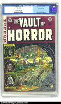 Golden Age (1938-1955):Horror, Vault of Horror #27 Gaines File Copy 1/12 (EC, 1952) CGC NM 9.4Off-white to white pages. For many collectors, EC produced t...
