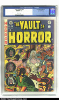 Golden Age (1938-1955):Horror, Vault of Horror #28 Gaines File pedigree 9/12 (EC, 1953) CGC NM/MT9.8 Off-white pages. Here is an unread/uncirculated comic...