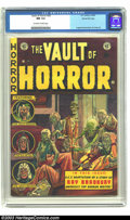 Golden Age (1938-1955):Horror, Vault of Horror #29 Gaines File Copy 1/11 (EC, 1953) CGC NM 9.4Off-white to white pages. A ghoulish cover by Johnny Craig, ...