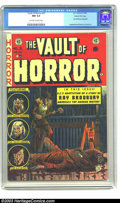 Golden Age (1938-1955):Horror, Vault of Horror #31 Gaines File Copy 9/12 (EC, 1953) CGC NM 9.4Off-white to white pages. Ray Bradbury, one of America's fav...