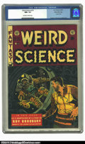 Golden Age (1938-1955):Science Fiction, Weird Science #19 Gaines File pedigree 7/10 (EC, 1953) CGC NM+ 9.6Off-white to white pages. Wally Wood gives us another fan...