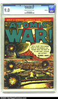 Golden Age (1938-1955):War, Atomic War! #3 Bethlehem pedigree (Ace, 1953) CGC VF/NM 9.0 Cream to off-white pages. Ever wonder what would happen in an al...
