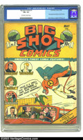 Golden Age (1938-1955):Superhero, Big Shot Comics #1 (Columbia, 1940) CGC FN+ 6.5 Off-white to white pages. This blockbuster premiere issue features the first...