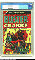 Golden Age (1938-1955):Science Fiction, Buster Crabbe #4 Bethlehem pedigree (Lev Gleason, 1954) CGC NM 9.4Off-white pages. The cover to this elusive issue shows Fl...