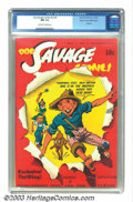 Golden Age (1938-1955):Superhero, Doc Savage Comics v2 #8 Mile High pedigree (Street & Smith, 1943) CGC NM 9.4 Off-white to white pages. Overstreet 2002 NM 9....