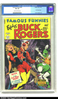Golden Age (1938-1955):Science Fiction, Famous Funnies #209 (Eastern Color, 1953) CGC VF+ 8.5 Cream tooff-white pages. Frank Frazetta begins his short run of Buck ...