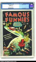 Golden Age (1938-1955):Science Fiction, Famous Funnies #212 (Eastern Color, 1954) CGC VF/NM 9.0 Cream tooff-white pages. If you're looking for a great example of F...