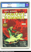 Golden Age (1938-1955):Science Fiction, Famous Funnies #214 (Eastern Color, 1954) CGC NM- 9.2 Cream tooff-white pages. Frank Frazetta was at his peak on this famou...