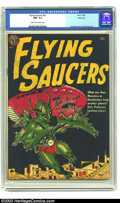Golden Age (1938-1955):Science Fiction, Flying Saucers #nn River City pedigree (Avon, 1952) CGC NM- 9.2Cream to off-white pages. You can not possibly get any more ...