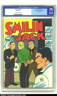 Four Color Comics #80 Smilin' Jack - Mile High pedigree (Dell, 1945) CGC VF+ 8.5 Off-white to white pages. Smilin' Jack...