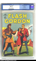 Golden Age (1938-1955):Miscellaneous, Four Color #84 Flash Gordon - File Copy (Dell, 1942) CGC NM 9.4 Cream to off-white pages. This comic is part of the Four C...