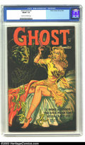 Golden Age (1938-1955):Horror, Ghost Comics #2 (Fiction House, 1952) CGC FN/VF 7.0 Cream tooff-white pages. Beautiful black cover on this rarely seen issu...