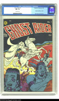 Golden Age (1938-1955):Western, Ghost Rider #1 (Magazine Enterprises, 1950) CGC NM- 9.2 Off-whitepages. This first issue features Ghost Rider's origin, and...
