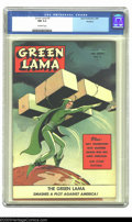 Golden Age (1938-1955):Science Fiction, Green Lama #6 Rockford pedigree (Spark Publications, 1945) CGC NM9.4 Off-white pages. This issue features a well-known cove...