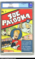 Golden Age (1938-1955):Adventure, Joe Palooka (1st series) #1 Denver pedigree (Columbia Comic Corporation, 1942) CGC VF+ 8.5 Cream to off-white pages. This be...