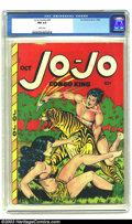 Golden Age (1938-1955):Adventure, Jo-Jo Comics #20 (Fox Features Syndicate, 1948) CGC NM 9.4 White pages. Jo-Jo the Congo King is well known for his ability t...