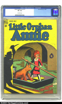 Little Orphan Annie #1 (Dell, 1948) CGC VF+ 8.5 Off-white pages. Little Orphan Annie comic strip reprints. Overstreet 20...