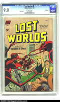 Golden Age (1938-1955):Science Fiction, Lost Worlds #6 Bethlehem pedigree (Standard, 1952) CGC VF/NM 9.0Off-white pages. One gander at this beauty and you will kno...