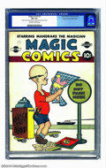 Golden Age (1938-1955):Humor, Magic Comics #1 Mile High pedigree (David McKay Publications, 1939) CGC FN 6.0 Off-white to white pages. This ancestral comi...