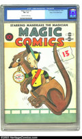 Golden Age (1938-1955):Funny Animal, Magic Comics #3 Mile High pedigree (David McKay Publications, 1939)CGC FN- 5.5 Off-white to white pages. Only two copies of...