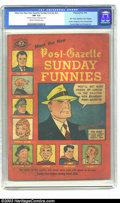 Golden Age (1938-1955):Miscellaneous, Meet the New Post-Gazette Sunday Funnies #nn (Pittsburgh Post, 1949) CGC FN- 5.5 Cream to off-white pages. One of the rarer ...