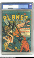 Golden Age (1938-1955):Science Fiction, Planet Comics #19 Rockford pedigree (Fiction House, 1942) CGC VF8.0 Cream to off-white pages. Dan Zolnerowich offers one of...