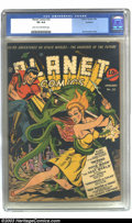 Golden Age (1938-1955):Science Fiction, Planet Comics #22 Rockford pedigree (Fiction House, 1943) CGC VG4.0 Light tan to off-white pages. But for a corner crease, ...