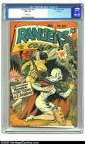 Golden Age (1938-1955):War, Rangers Comics #20 Rockford pedigree (Fiction House, 1944) CGC NM- 9.2 Off-white pages. This near-perfect copy from the Rock...