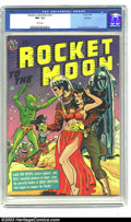 Golden Age (1938-1955):Science Fiction, Rocket to the Moon #nn Spokane pedigree (Avon, 1951) CGC NM- 9.2 White pages. Joe Orlando drew such awesome and vicious alie...