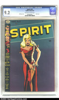 Golden Age (1938-1955):Superhero, The Spirit #22 (Quality, 1950) CGC NM- 9.2 Off-white to white pages. Will Eisner is one of the greatest and most popular com...