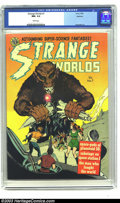 Golden Age (1938-1955):Science Fiction, Strange Worlds #7 Spokane pedigree (Avon, 1952) CGC NM- 9.2 Whitepages. If you are in need of a pedigree book that has ever...