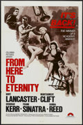 """Movie Posters:Academy Award Winner, From Here to Eternity (Columbia, R-1970s). One Sheet (27"""" X 41""""). Academy Award Winner...."""