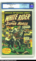 Golden Age (1938-1955):Western, White Rider and Super Horse #4 Mile High pedigree (StarPublications, 1950) CGC NM+ 9.6 White pages. L. B. Cole is wellknow...