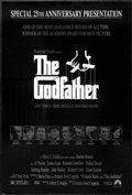 """Movie Posters:Crime, The Godfather (Paramount, R-1997). One Sheet (27"""" X 40"""") Special25th Anniversary Presentation. Crime...."""