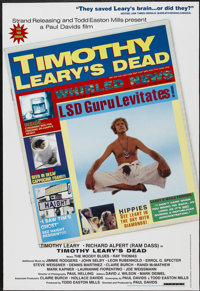 """Timothy Leary's Dead (Strand Releasing, 1996). One Sheet (27"""" X 40""""). Documentary"""