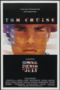 """Movie Posters:War, Born on the Fourth of July (Universal, 1989). One Sheet (27"""" X 41"""")DS. War...."""