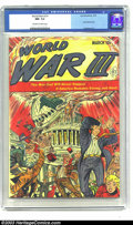 Golden Age (1938-1955):Science Fiction, World War III #1 (Ace, 1953) CGC NM- 9.2 Off-white to white pages.A comic about World War III from 1953 is interesting enou...