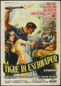 "Movie Posters:Adventure, Journey to the Lost City (American International, 1959). Italian 2- Folio (39"" X 55""). Adventure...."