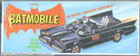 Batmobile Model Kit (Aurora, 1966). Atomic batteries to power! Turbines to speed! Surely one of the coolest aspects of t...