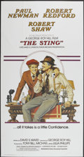 "Movie Posters:Crime, The Sting (Universal, 1974). International Three Sheet (41"" X 81"").Crime...."