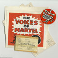 Golden Age (1938-1955):Superhero, Merry Marvel Marching Society Club Kit (Marvel, 1966-67). This group is a veritable gold mine for all you maniacal Marvelite...