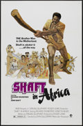 "Movie Posters:Blaxploitation, Shaft in Africa (MGM, 1973). One Sheet (27"" X 41"") Tri-Folded.Blaxploitation...."