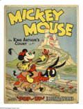 Books:Hardcover, Mickey Mouse in King Arthur's Court, First Edition (Blue RibbonBooks, 1933) Condition:FN/VF. No quality collection can be c...