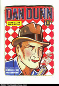Pulps:Detective, Dan Dunn Detective Magazine V1#1 (Standard, Sept. 1936) Condition:FN. This pulp is known for being scarce, and is collectib...