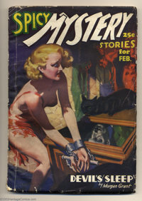 "Miscellaneous Spicy Pulp Group (Culture Publications, 1935-37). This is a nice group of three ""Spicy"" pulps. I..."