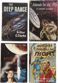 Books:First Editions, Arthur C. Clarke. Four First Editions, ... (Total: 4 Items)