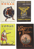 Books:First Editions, Robert E. Howard. Four First Editions,... (Total: 4 Items)
