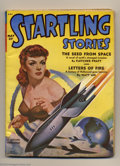 Pulps:Science Fiction, Startling Stories Group (Standard, 1947-52) Condition: Average VG(trimmed). This lot of 11 great science fiction pulps cons...(Total: 11 items Item)