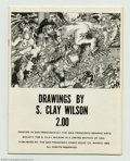 Silver Age (1956-1969):Alternative/Underground, Drawings by S. Clay Wilson 2.00 Limited Edition (San FranciscoComic Book Company, 1969) Condition: Qualified VF/NM. From th...